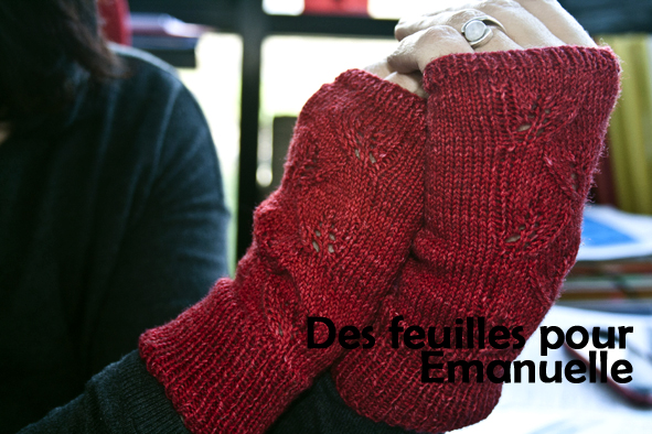 Emanuelle's mitts